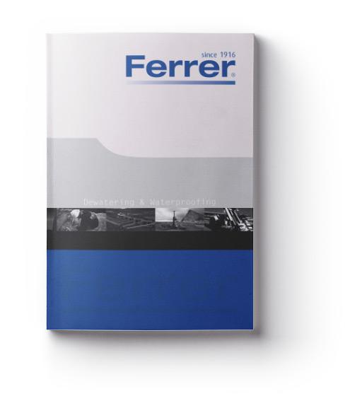 Catálogos Ferrer® Dewatering & Waterproofing