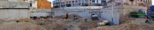 dewatering en una promoción de viviendas en Mataró