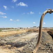 Obras de la nueva depuradora de aguas industriales de Tarragona