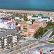 Imagen virtual del edificio Malvarrosa Residencial Playa en Valencia