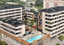 Imagen virtual de promoción de viviendas en Palma de Mallorca