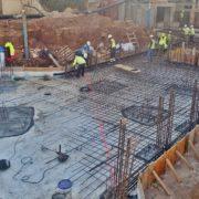 Obras de ampliación del hotel Hipotels Mediterráneo Club en Sa Coma (Mallorca).