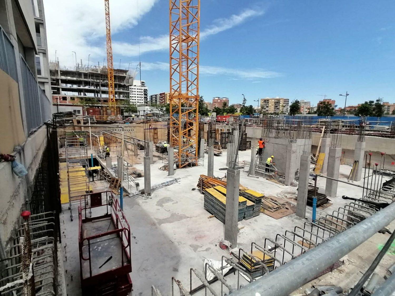 Dewatering en un proyecto residencial de Avintia en Valencia.