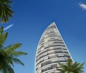 Imagen virtual de la Delfin Tower de Benidorm