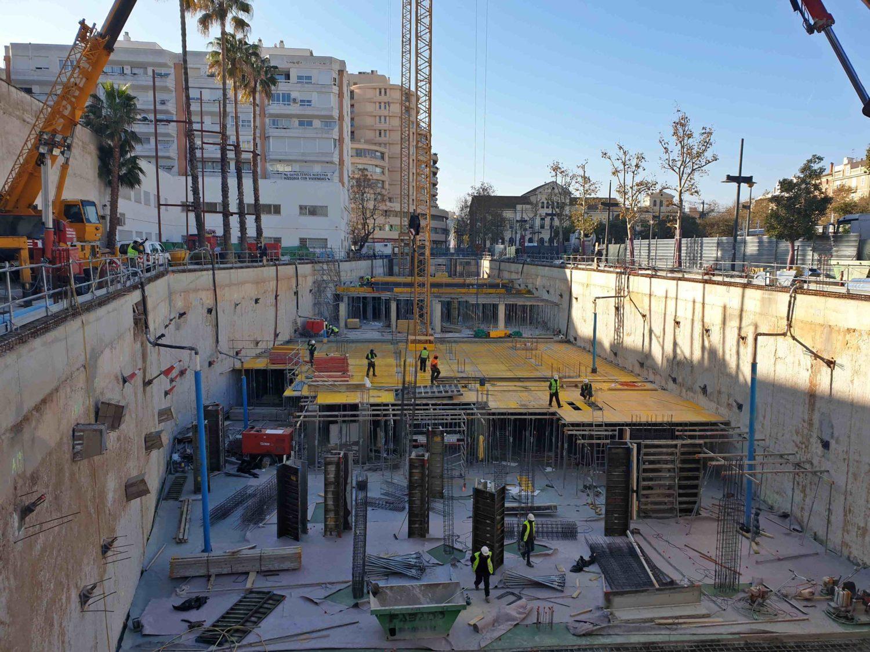 Dewatering en un edificio de viviendas de FCC en Valencia