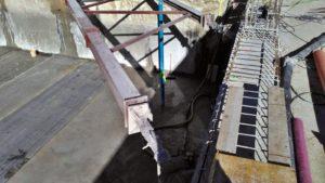 Dewatering en las obras de la Delfin Tower, en Benidorm