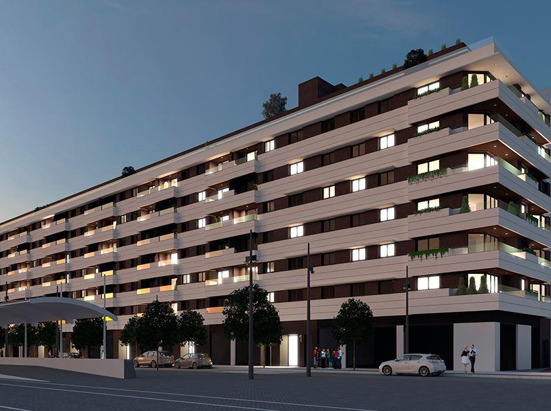 Imagen virtual de un edificio de viviendas en Valencia
