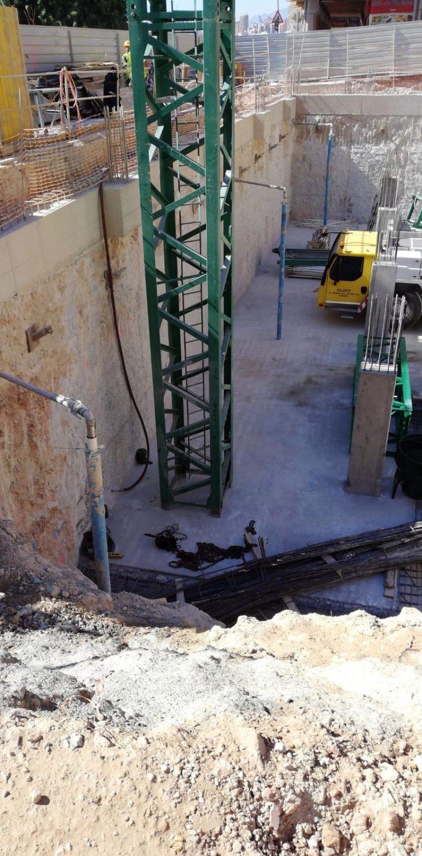 Dewatering en el Hotel H10 Porto Poniente de Benidorm
