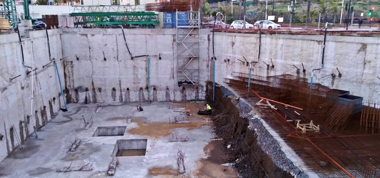 Agua subterránea en un edificio de viviendas de Estepona