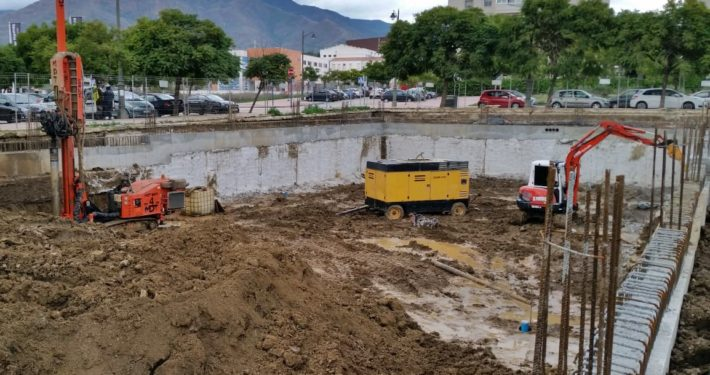 Construcción de un edificio de viviendas en Estepona por Ñarupark