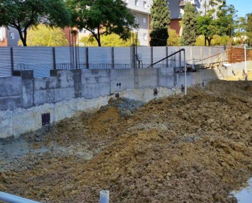 Construcción de un edificio de viviendas en Huelva por Sacyr Infraestructuras