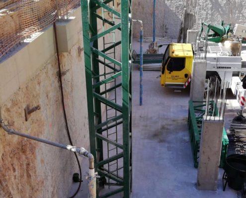 Construcción del Hotel H10 en Benidorm por Constructora San José