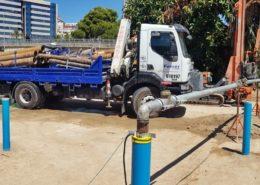Pumping Test en la reforma del Club de Mar de Palma de Mallorca.